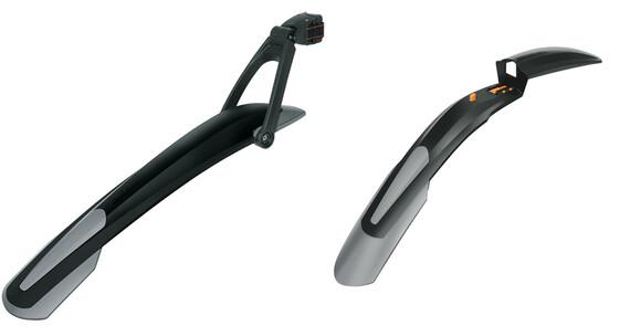 """SKS Shockblade & X-Blade spatbordenset 26/27.5"""" grijs/zwart"""